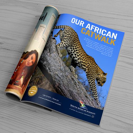 "South African Airways ""Catwalk"" ad"