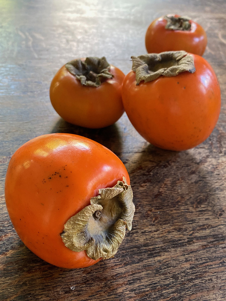Persimmons?